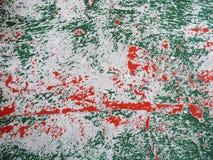 Abstracci?n de la textura en rayas rojas y verdes de un fondo ligero horizontalmente foto de archivo