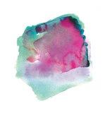 Abstracción de la acuarela Imagen de archivo