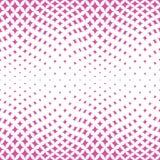abstracet红色几何半音三角似真无缝的样式 免版税库存照片