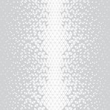 Abstracet geometric halftone triangle trippy seamless pattern. Background royalty free illustration