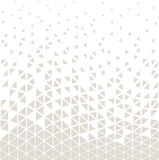 Abstracet geometric halftone triangle trippy seamless pattern Stock Photography