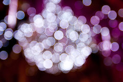 Abstrach light background. Abstract light background take from light christmas tree Stock Images