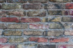 Abstrack background with old brick wall