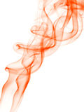 Abstrack background with orange smoke Stock Photography