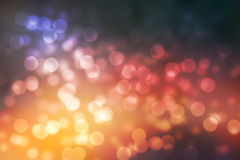 Abstrack background pink bokeh lights and warm and vivid colors Stock Photo