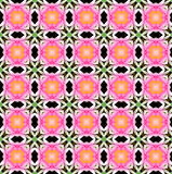 Abstrack background seamless pattern. Created technique from flower Royalty Free Stock Photo