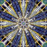 Abstrack-color-líneas pintura digital Foto de archivo