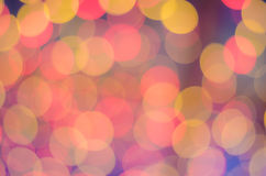 Abstrack colorful big background with bokeh lights Stock Photo