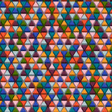 Abstrack driehoekige achtergrond Royalty-vrije Stock Afbeelding