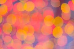Abstrack färgrik stor bakgrund med bokehljus Royaltyfri Foto