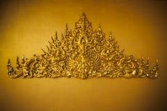 Abstrack guld- symbol Royaltyfria Bilder