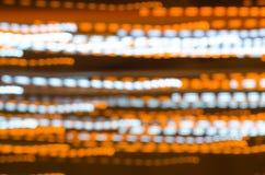 Abstrack lång exponering med bokehljus Royaltyfria Foton