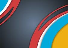 Abstrack Lege Kleurrijke Achtergrond Stock Foto's