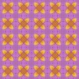 Abstrack naadloos patroon als achtergrond Royalty-vrije Stock Fotografie