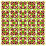 Abstrack sömlös färgrik tapetbakgrund Royaltyfri Bild