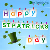 Abstrack of St.Patrick's Day. Background Template, Illustration, EPS 10 Stock Illustration