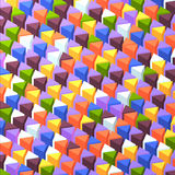 Abstrack triangular background Stock Photo