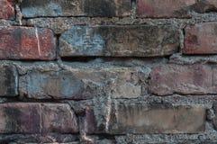 Abstrackachtergrond met oude bakstenen muur royalty-vrije stock afbeeldingen