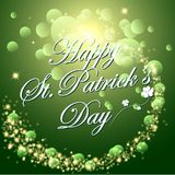 Abstrackt of St. Patrick`s Day Background. Vector and Illustration, EPS 10 vector illustration