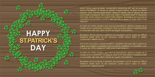 Abstrackt of St.Patrick's Day. Royalty Free Stock Image