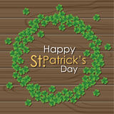 Abstrackt of St.Patrick's Day. Stock Images