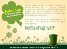 Abstrackt of St. Patrick's Day. Abstrackt of St. Patrick's Day, Background Design, Illustration, EPS 10 stock illustration