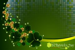 Abstrackt of St.Patrick`s Day Background. Vector and Illustration, EPS 10 stock illustration