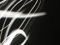 Abstraclijnen in wit en zwart royalty-vrije stock foto