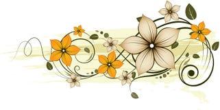 Abstracção floral. Fotografia de Stock Royalty Free