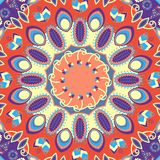 Abstracr Carpet Design Stock Image