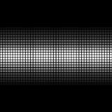 Abstract. Illustration of mosaic on a black background Stock Photography