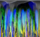 Abstract. Multicolored and textured background Royalty Free Illustration