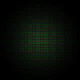 Abstract. Black and green squared abstract background stock illustration
