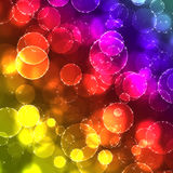 Abstract. Shiny abstract background.circles in the stars Royalty Free Stock Photography