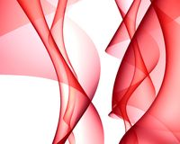 Abstract. Backlit of iregular shapes in red color Stock Photos