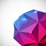 Abstract 3-dimensional background Stock Photography