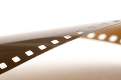 Abstract 35mm film strip. This image shows an abstract 35mm film strip (Shallow depth of field Stock Photos