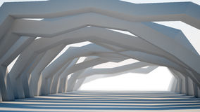 Abstract 3d architecture Stock Images