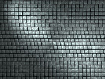 Abstract 3D Background. In grey color, broken up into blocks of different levels, with a lighter linking design overlapping stock illustration