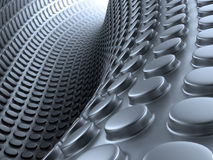 Abstract 3d background. Abstract 3d metallic technology background Royalty Free Illustration