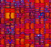 Abstract 3D Background. An abstract and colorful 3d background Royalty Free Stock Photos