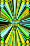 Abstract 3D Background Stock Photo