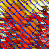 Abstract 3D Background. An abstract and colorful 3d background Stock Photos