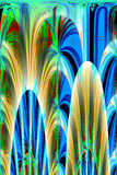 Abstract 3D Background. An abstract and colorful 3d background Royalty Free Stock Images