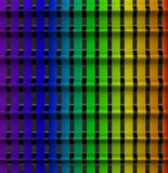 Abstract 3d background. Rainbow colors Royalty Free Illustration
