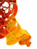 Abstract 3d background stock illustration