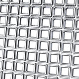 Abstract 3d background - wall of cubes. Abstract 3d background - wall of silver cubes stock illustration