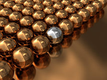 Abstract 3d balls Royalty Free Stock Photo