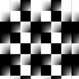 Abstract 3d Checkerboard stock image