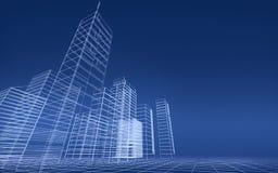 Abstract 3D city Stock Photos